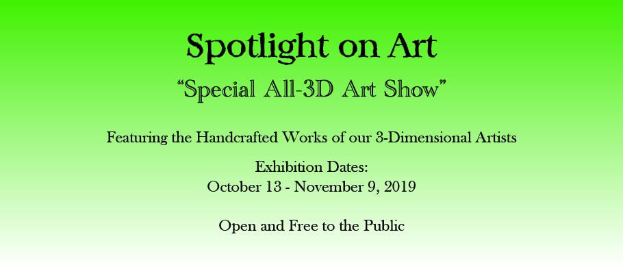 Special All-3D Art Show