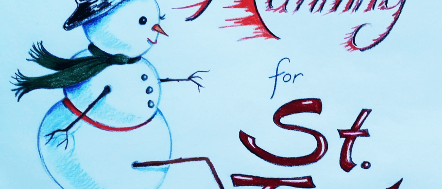 Snowman mascot for St Judes fundraiser